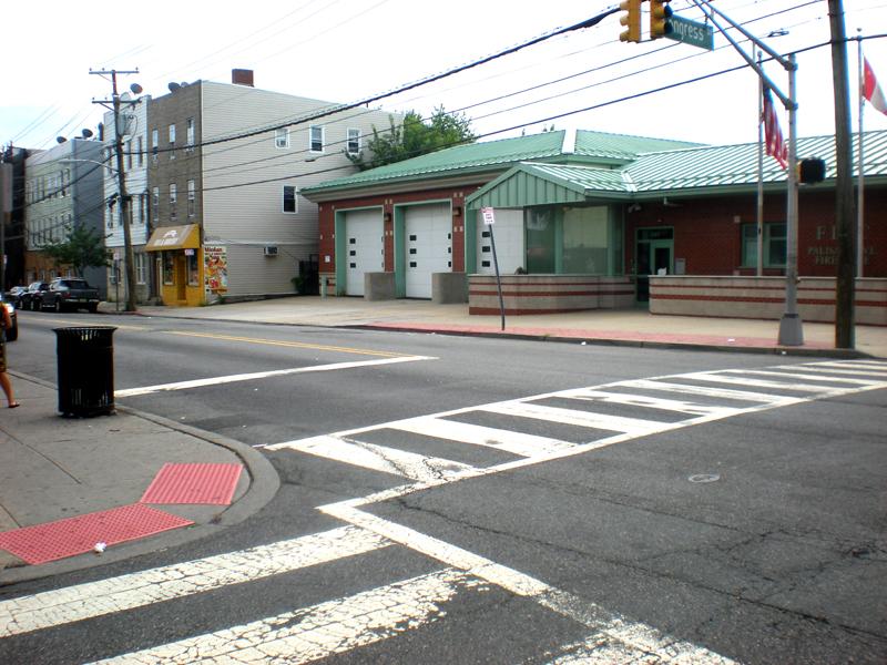 limit-line at street light